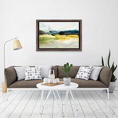 Artissimo Wonderful Love I Framed Canvas Wall Art