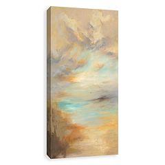 Artissimo Tan Untitled Canvas Wall Art