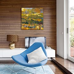 Artissimo Colorado Gold Canvas Wall Art