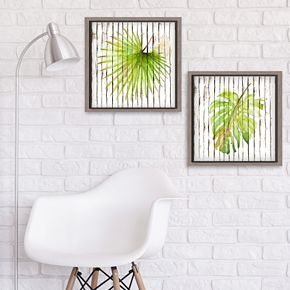 Artissimo Palm Leaf II Wall Decor 2-piece Set