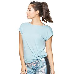 Women's Colosseum Aurora Tie-Hem Top