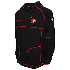 Men's Franchise Club Louisville Cardinals Aero Anorak Pullover