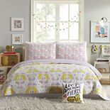 Hello! Lucky Tiger Flower Quilt Set