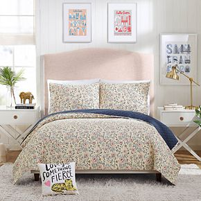 Hello! Lucky Provencal Poppies Quilt Set