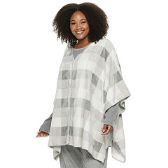 Plus Size SONOMA Goods for Life™ Poncho Robe
