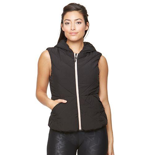 Women's Colosseum Ambrosia Lightweight Puffer Vest