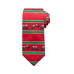 Men's Holiday-Patterned Tie