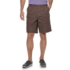 Men's Croft & Barrow® Classic-Fit Side-Elastic 9.5-inch Cargo Shorts