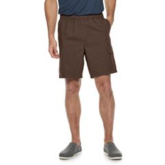 Men's Croft & Barrow® Classic-Fit Elastic-Waistband 8.5-inch Cargo Shorts