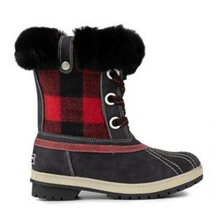 London Fog Milly Women's Waterproof Winter Duck Boots