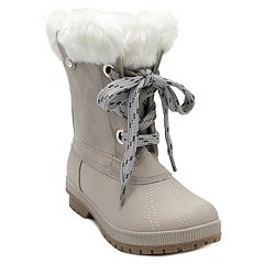 London Fog Milly Women's Waterproof Winter Duck Boots