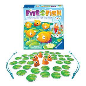 Five Little Fish Preschool Board Game