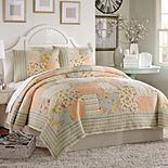 Mary Jane's Home Summer Fades To Fall Quilt or Sham