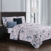 Mazedaze 5-piece Quilt Set
