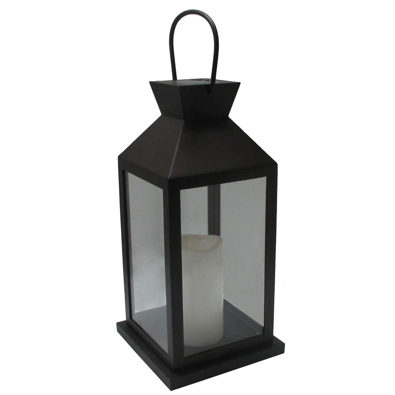SONOMA Goods for Life™ Large Solar Light-Up Black Lantern Outdoor Table  sc 1 st  Kohlu0027s & Patio Solar Lighting | Kohlu0027s