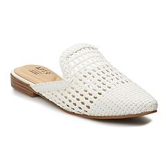 5cb07acacd6 Apt. 9 Form Women s Woven Mules. White Black. sale