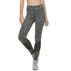 Women's Adrienne Vittadini Color Block High-Waisted Leggings