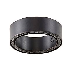 Simply Vera Vera Wang Men's Black Matte Stainless Steel Band