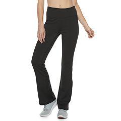 Women's Adrienne Vittadini Mesh Panel Bootcut Yoga Pants