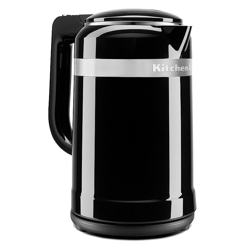 KitchenAid 1.5-liter Electric Kettle with Dual Wall Insulation, Black