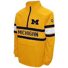 Men's Franchise Club Michigan Wolverines Alpha Pullover