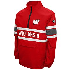 Men's Franchise Club Wisconsin Badgers Alpha Pullover