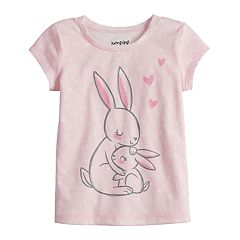 Toddler Girl Jumping Beans® Bunny Graphic tee