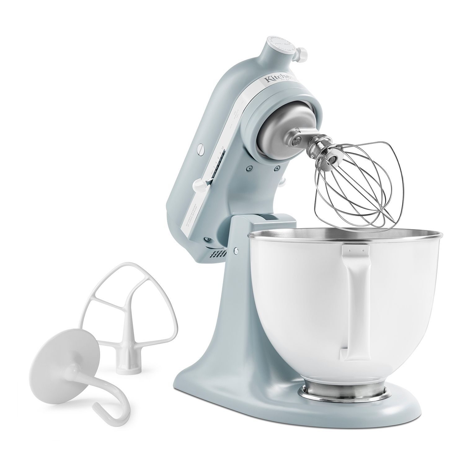 KitchenAid KSM180RPMB Limited Edition Heritage Artisan Series 5 Quart  Tilt Head Stand Mixer
