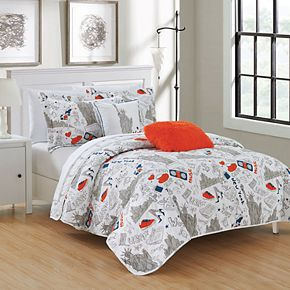 New York Quilt Set