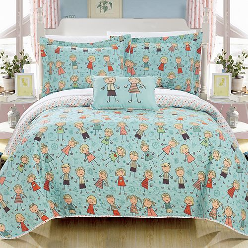 Jacala Happy Kids Quilt Set