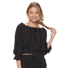 Juniors' Mudd® Peasant Top