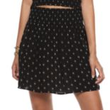 Juniors' Mudd® Smocked Skirt