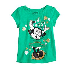 Disney's Minnie Mouse Toddler Girl St. Patty's Day Tee by Jumping Beans®
