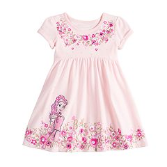 22578f77b459 Disney s Beauty and the Beast Belle Toddler Girl Babydoll Dress by Jumping  Beans®