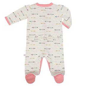 Baby Girl Just Born Organic Arrow & Fox Sleep & Play