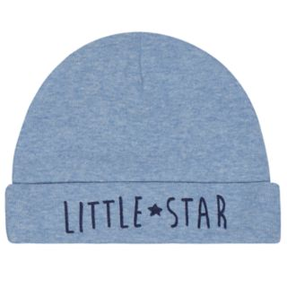 Baby Boy Just Born Organic 4-pack Space-Theme Hats