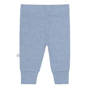Baby Boy Just Born Organic 2-pack Solid Pants