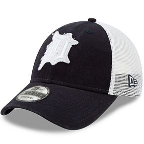 Adult New Era Detroit Tigers Team Truckered 9FORTY Baseball Cap
