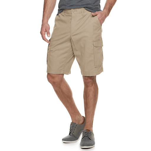 ef5a22cc99 Men's SONOMA Goods for Life™ Modern-Fit Comfort Flexwear Ripstop Cargo  Shorts