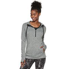 Women's Tek Gear® Sweater Fleece 1/4 Zip Hoodie