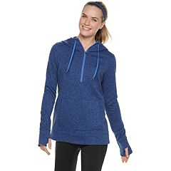 Women's Tek Gear® Sweater Fleece 1/4 Zip Hoodie