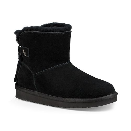9085007f50 Meigar 2018 Women s Casual Winter Shoes Warm Fabric Fur-lined Slip On Ankle  Snow Boots
