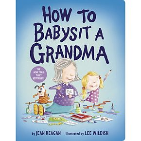 Penguin Random House How to Babysit a Grandma Board Book
