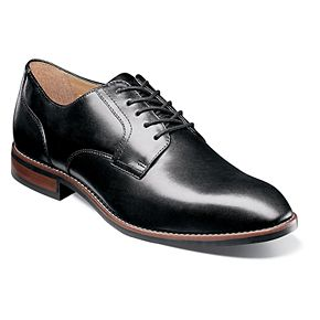 Nunn Bush Fifth Ave Flex Men's Plain Toe Dress Oxfords