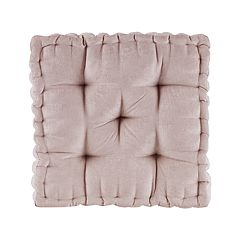 Intelligent Design Chenille Square Floor Pillow