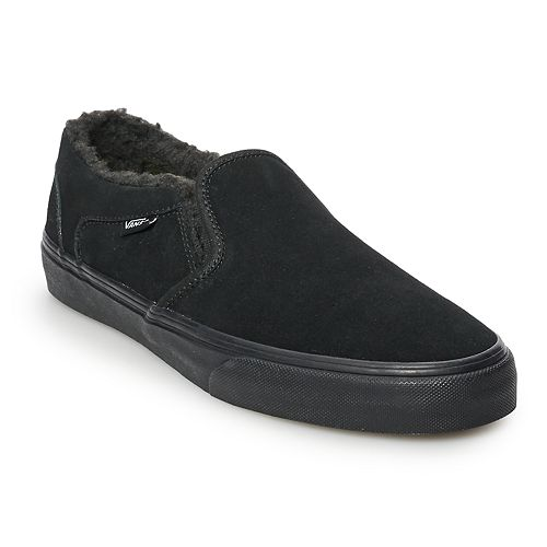 Vans Asher DX Men s Sherpa-Lined Slip-On Shoes f0e6a67d8