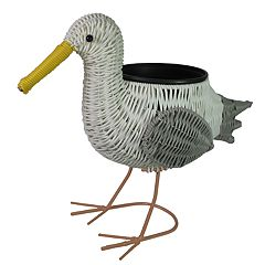 SONOMA Goods for Life™ Indoor / Outdoor Plastic Wicker Seagull Planter