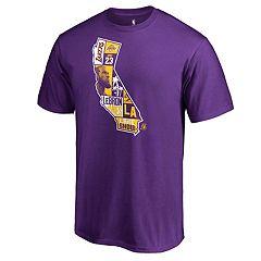 Men's Los Angeles Lakers LeBron James State Tee