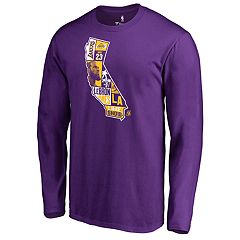 Men's Los Angeles Lakers LeBron James State Tee