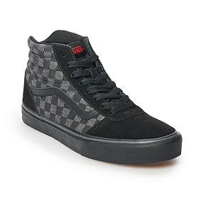 Vans Hi Men's Checkered Skate Shoes